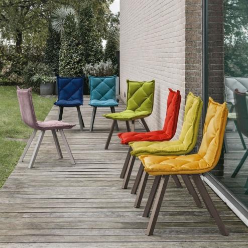 Sedia Digione Target Point- Multicolore Singola